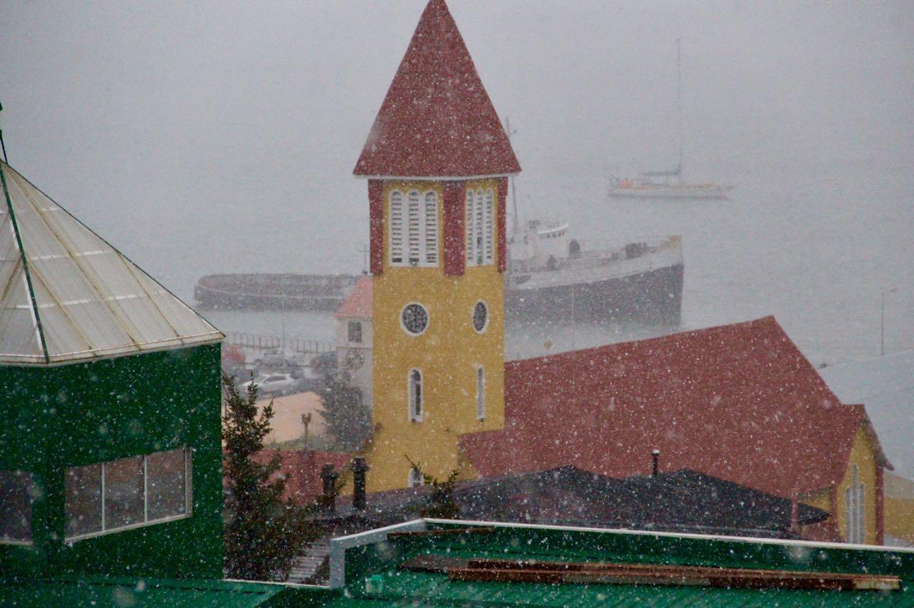 Se esperan lluvias y nevadas para los próximos tres días en Ushuaia