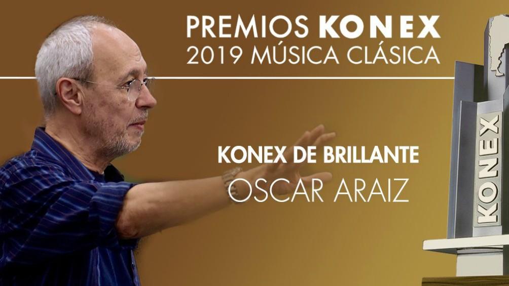 El coreógrafo Oscar Araiz recibirá el Konex de Brillante