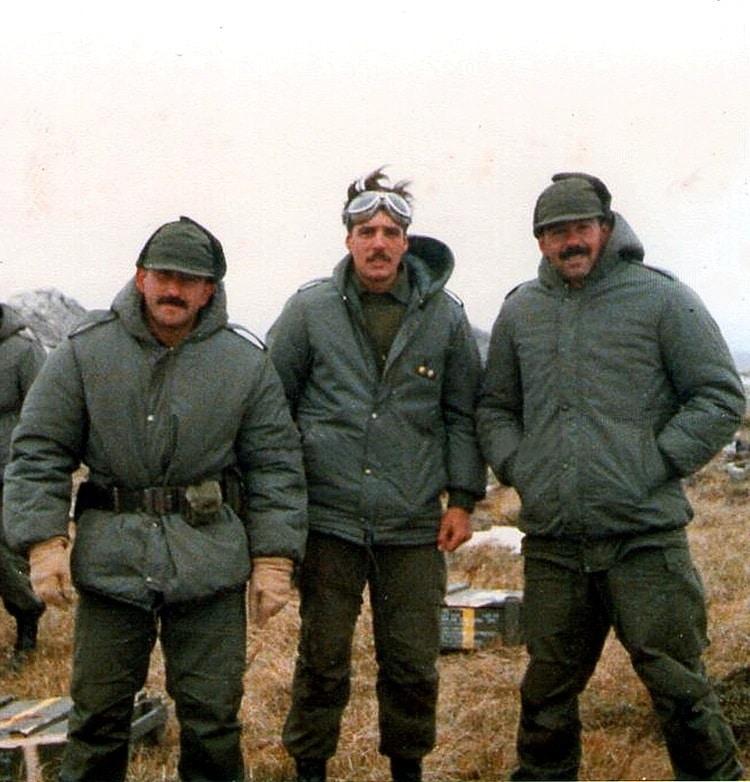 Un teniente que combatió en Monte Longdon es el identificado 115 en Malvinas