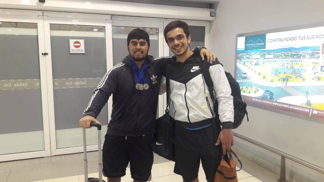 Fueguinos se subieron al podio en el Campeonato Sudamericano y Panamericano de Powerlifting 2019 en Uruguay