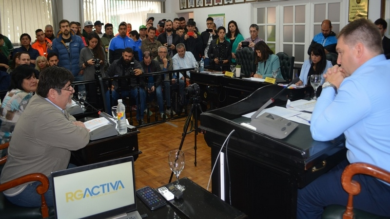 Sindicato de Petroleros participó en la audiencia pública por la conformación de Rio Grande Activa Sociedad del Estado