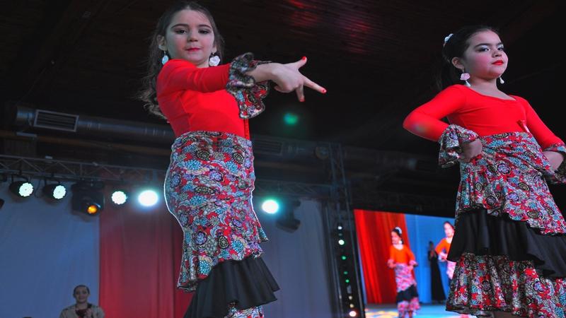 Más de 400 niños actuarán este sábado en el Arte del Movimiento Infantil.
