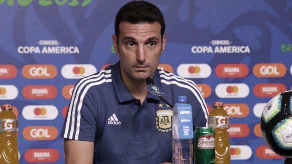 """Scaloni destacó que la Selección """"juega bien y eso es lo importante"""""""