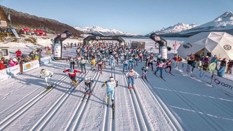 Esquiadores de 15 países participarán de los eventos Worldloppet en el Fin del mundo