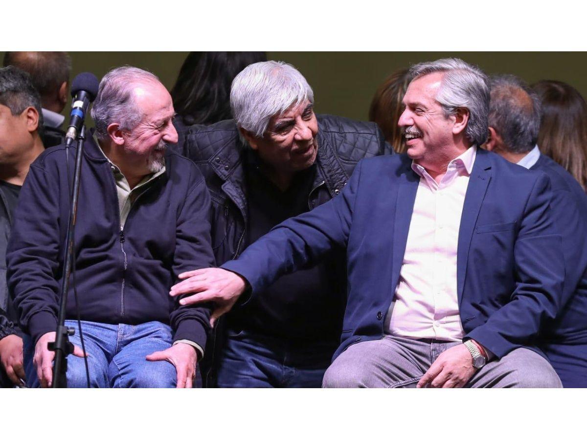 """Hugo Moyano: """"Alberto Fernández va a andar bien"""""""