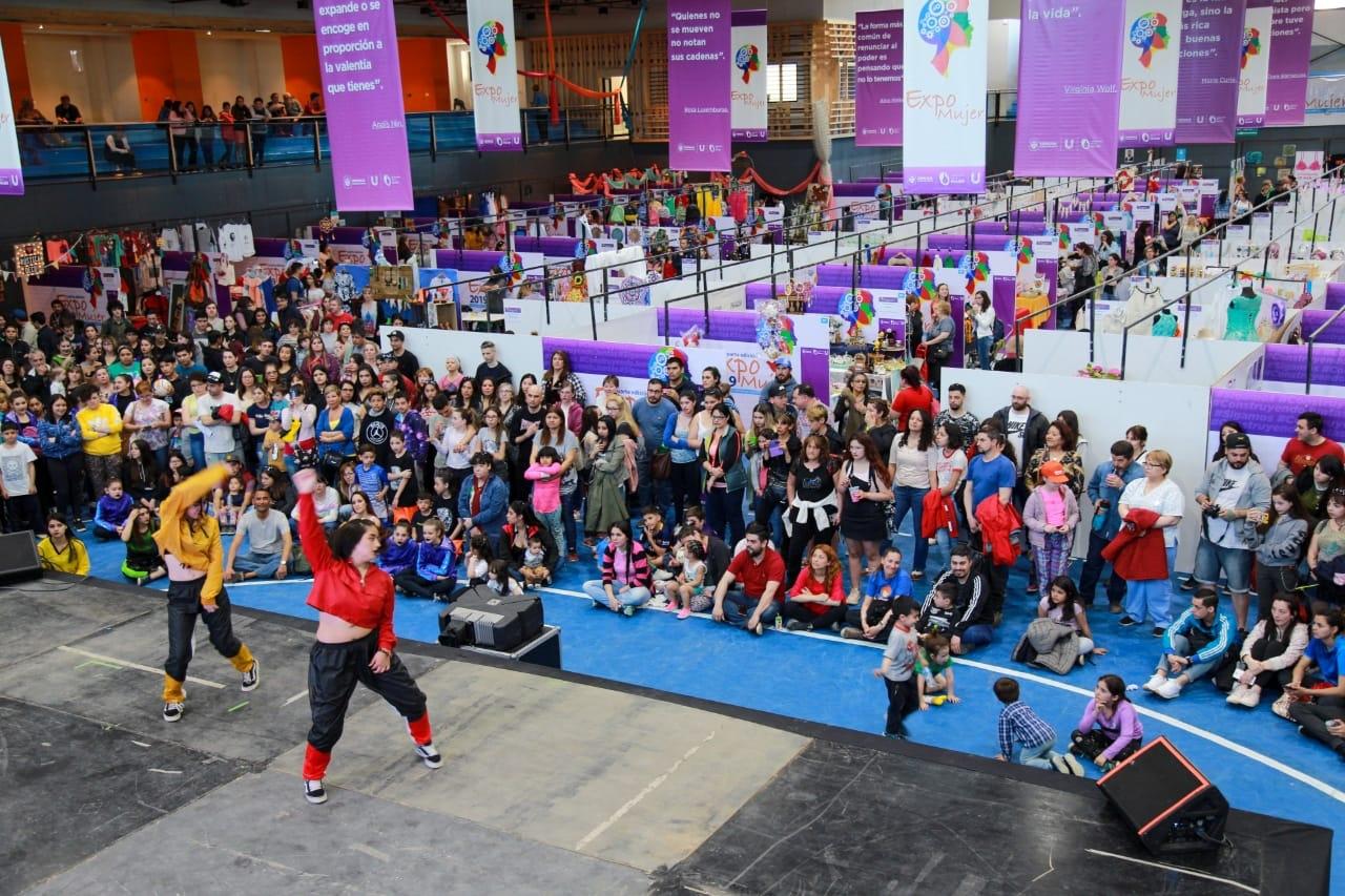 Más de 15 mil personas participaron de la 4° edición de la Expo Mujer