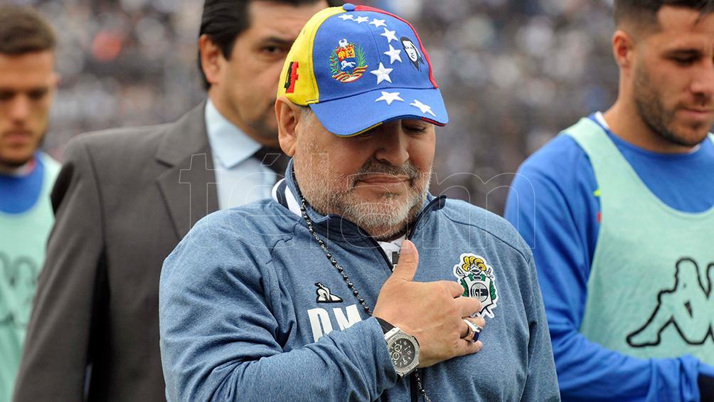 """Maradona """"seguramente"""" se irá de Gimnasia, según adelantó Rocío Oliva"""