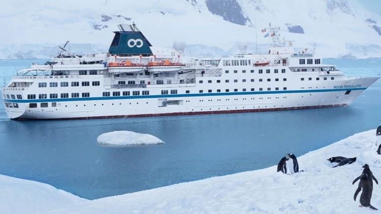 Crucero embargado en Buenos Aires: La empresa a cargo de las actividades del barco registra una deuda millonaria en Ushuaia