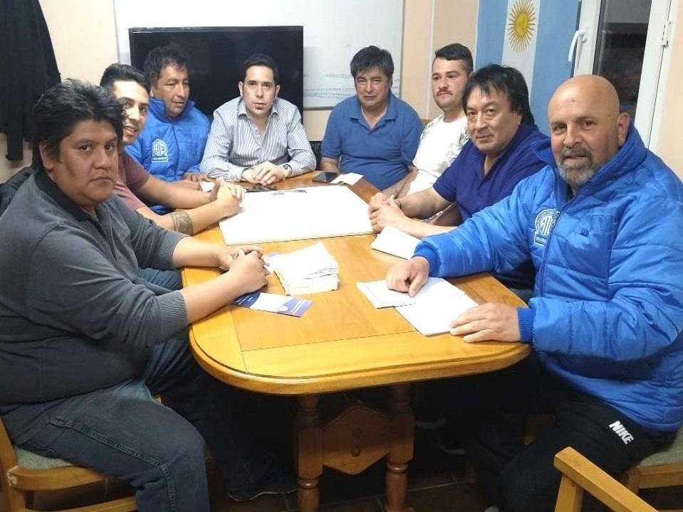 Dirigentes de ATE se reunieron con Runin