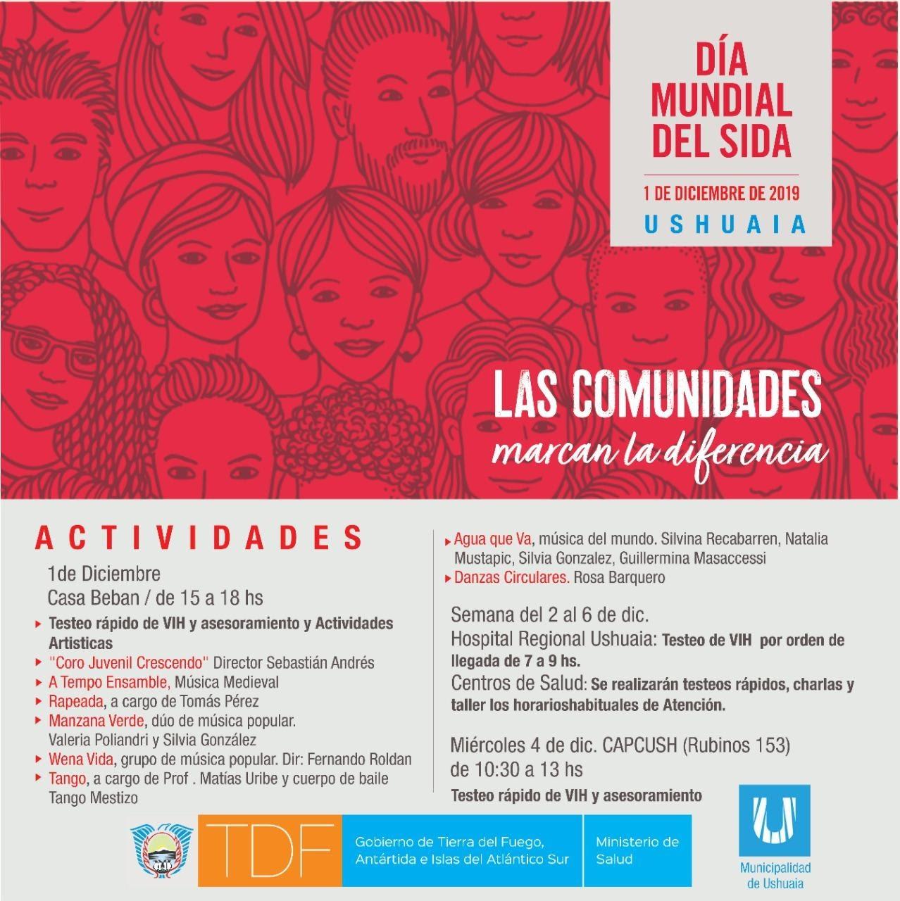 Anuncian actividades por el Día Mundial del SIDA