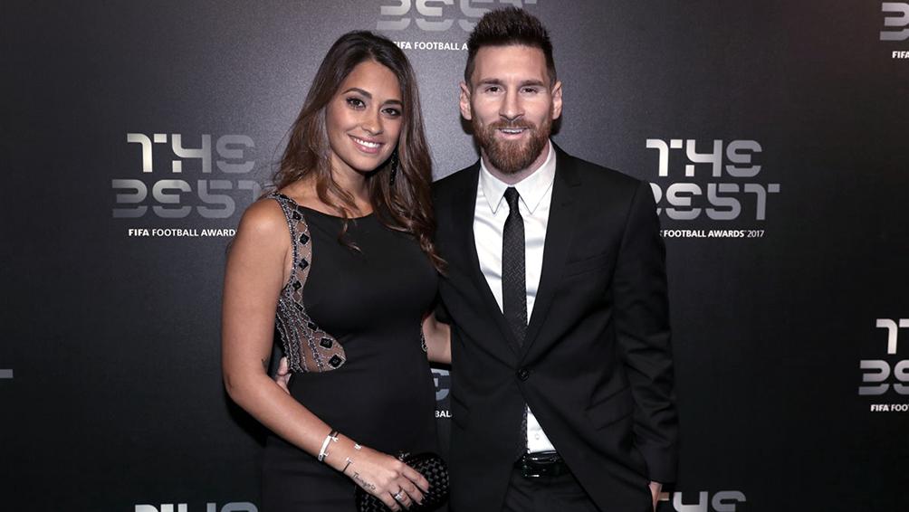 Messi viajó con su familia a París para la gala del Balón de Oro