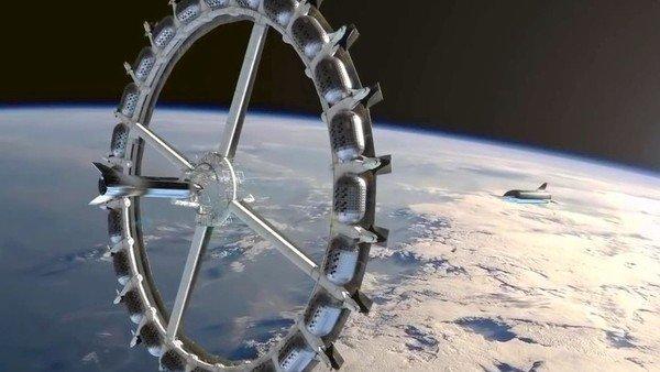 voyager:-el-primer-hotel-espacial-se-podria-inaugurar-en-2027