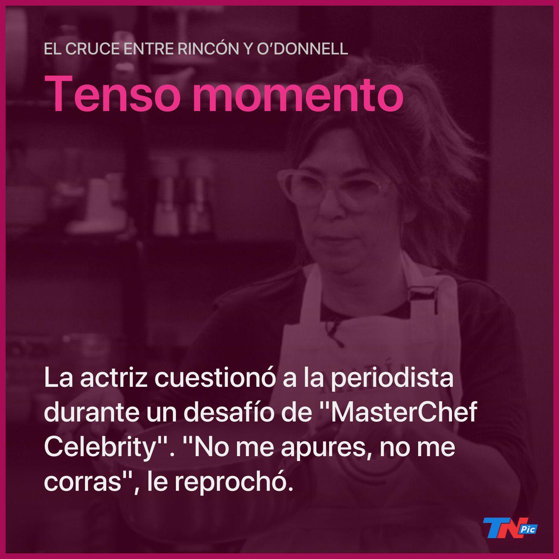 """el-tenso-momento-entre-andrea-rincon-y-maria-o'donnell-en-""""masterchef-celebrity"""""""