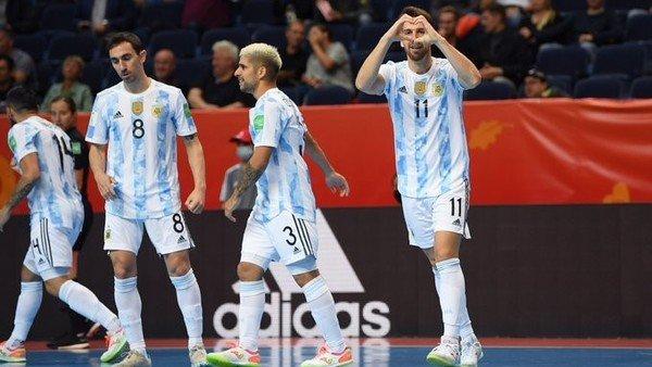 mundial-de-futsal:-la-seleccion-argentina-debuto-con-una-goleada-historica-sobre-estados-unidos